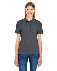 Hanes Ladies' 6.5 oz. X-Temp® Piqué Short-Sleeve Polo with Fresh IQ 035P
