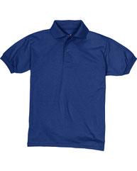Hanes Youth 5.2 oz., 50/50 EcoSmart® Jersey Knit Polo 054Y