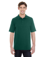 Hanes Men's 6.5 oz. X-Temp® Piqué Short-Sleeve Polo with Fresh IQ 055P
