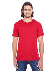 Threadfast Apparel Men's Triblend Fleck Short-Sleeve T-Shirt 103A