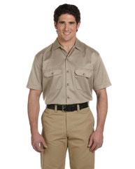 Dickies Men's 5.25 oz./yd˛ Short-Sleeve WorkShirt 1574