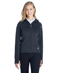 Spyder Ladies' Hayer Full-Zip Hooded Fleece Jacket 187331