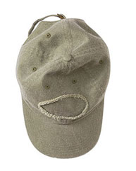 Authentic Pigment Pigment-Dyed Raw-Edge Patch Baseball Cap