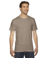 American Apparel Unisex Fine Jersey Short-Sleeve T-Shirt 2001W
