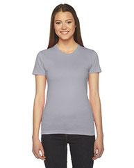 American Apparel Ladies' Fine Jersey Short-Sleeve T-Shirt 2102W