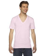 American Apparel Unisex Fine Jersey Short-Sleeve V-Neck T-Shirt 2456W