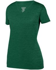Augusta Sportswear Ladies' Shadow TonalHeather Short-Sleeve Training T-Shirt 2902