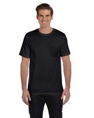 Bella + Canvas Men's Jersey Short-Sleeve Pocket T-Shirt 3021