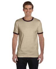 Bella + Canvas Men's Jersey Short-Sleeve Ringer T-Shirt 3055C