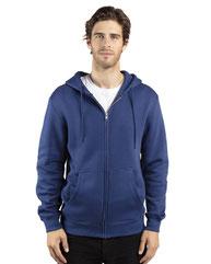 Threadfast Apparel Unisex Ultimate Fleece Full-Zip Hooded Sweatshirt 320Z
