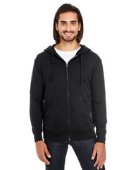 Threadfast Apparel Unisex Triblend French Terry Full-Zip