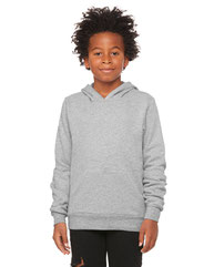 Bella + Canvas Youth Sponge Fleece Pullover Hooded Sweatshirt 3719Y