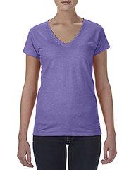 Anvil Ladies' Lightweight Fitted V-Neck T-Shirt 380VL