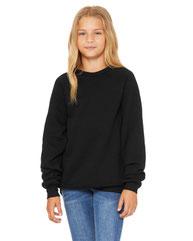 Bella + Canvas Youth Sponge Fleece Raglan Sweatshirt 3901Y