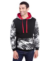 Code Five Men's Fashion Camo Hooded Sweatshirt 3967