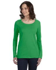 Anvil Ladies' Featherweight Long-Sleeve Scoop T-Shirt 399