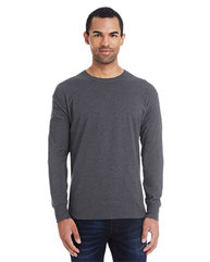 Hanes Men's 4.5 oz., 60/40 Ringspun Cotton/Polyester X-Temp® Long-Sleeve T-Shirt 42L0
