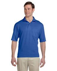Jerzees Adult 5.6 oz. SpotShield™ Pocket Jersey Polo 436P