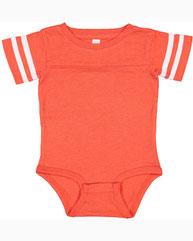 Rabbit Skins Infant Football Bodysuit