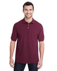 Jerzees Adult 6.5 oz. Premium 100% Ringspun Cotton Piqué Polo 443MR