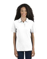 Jerzees Ladies' 6.5 oz. Premium 100% Ringspun Cotton Piqué Polo 443WR