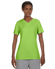 Hanes Ladies' Cool DRI® with FreshIQ V-Neck Performance T-Shirt 483V