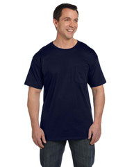 Hanes Adult 6.1 oz. Beefy-T® with Pocket 5190P