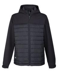 Dri Duck Men's Pinnacle Puffer Body Softshell Hooded Jacket 5324