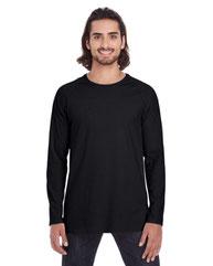 Anvil Adult Lightweight Long & Lean Raglan Long-Sleeve T-Shirt 5628