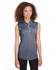 Puma Golf Ladies' Rotation Stripe Sleeveless Polo 597222