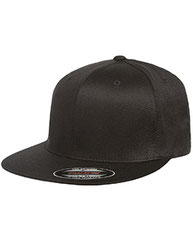 Flexfit Adult Wooly Twill Pro Baseball On-Field Shape Cap with Flat Bill 6297F