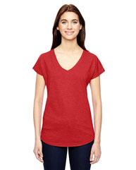 Anvil Ladies' Triblend V-Neck T-Shirt 6750VL