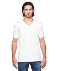 Anvil Adult Triblend V-Neck T-Shirt