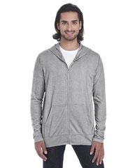 Anvil Adult Triblend Full-Zip Jacket 6759