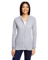 Anvil Ladies' Triblend Full-Zip Jacket 6759L