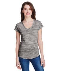 Anvil Ladies' Streak V-Neck T-Shirt 675VIDL