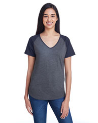 Anvil Ladies' Tri-Blend Raglan T-Shirt 6770VL