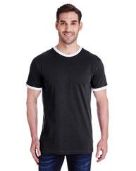 LAT Men's Retro Ringer T-Shirt 6932
