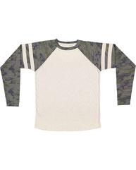 LAT Men's Gameday Mash-Up Long Sleeve Fine Jersey T-Shirt