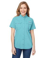 Columbia Ladies' Bahama™ Short-Sleeve Shirt