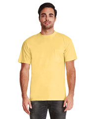 Next Level Adult Inspired Dye Crew with Pocket 7415
