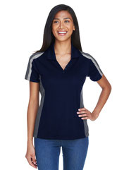 Extreme Ladies' Eperformance™ Strike Colorblock Snag Protection Polo 75119