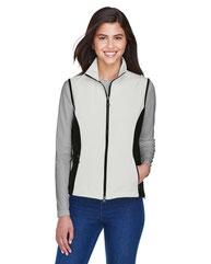 North End Ladies' Three-Layer Light Bonded Performance Soft Shell Vest 78050