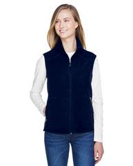 North End Ladies' Voyage Fleece Vest 78173