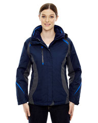 North End Ladies' Height 3-in-1 Jacket with Insulated Liner 78195