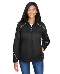 North End Ladies' Angle 3-in-1 Jacket with Bonded Fleece Liner 78196