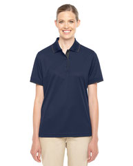 Core 365 Ladies' Motive Performance Piqué Polo with Tipped Collar 78222