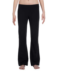 Bella + Canvas Ladies' Cotton/Spandex Fitness Pant 810