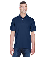 UltraClub Men's Cool & Dry Stain-Release Performance Polo