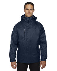 North End Adult Performance 3-in-1 Seam-Sealed Hooded Jacket 88120